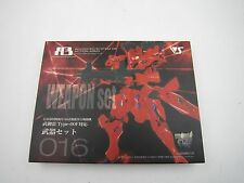 Game Muv Luv Alternative A3 Weapon Set for Takemikazuchi Type-00F Volks Japan