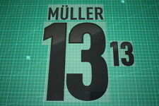 Germany 12/14 #13 MULLER Homekit Nameset Printing