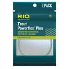 Rio Trout Powerflex Plus High Performance Tapered Leader 9 Ft. 3x 4x 5x 6x NEW!