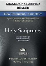 MCT Reader New Testament, Large Print, Mickelson Clarified : A Precise...