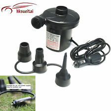 Cigarette Lighter Electric Air Pump Inflator Inflatable Mattresses Hovercraft