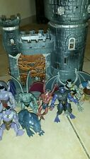 Lot Gargoyles kenner 90' with castle