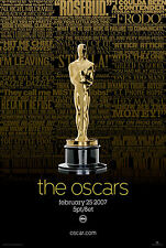 THE OSCARS 2007 MOVIE AWARDS POSTER ART MOVIE PRINT POSTER