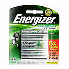 4x Energizer Rechargeable AA NiMH 2300 mAh Recharge Extreme Battery NEW FreeShip
