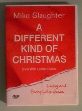 mike slaughter  A DIFFERENT KIND OF CHRISTMAS    DVD includes booklet