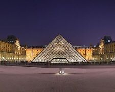 The Louvre in Paris, France 8x10 Photo Picture