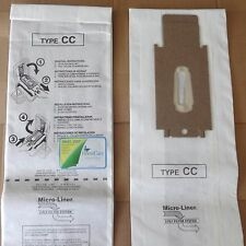 Vacuum Bags for Oreck CC Microlined 4 Bags DVC XL5 XL7 XL21  Scent Strips & Belt
