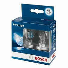 BOSCH Pure Light Headlight Bulb 499 H7 12V  - TWIN PACK