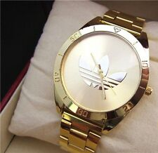 Vintage fashion brand new gold watch Clover Adidas watch. Men's/Women's