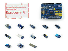 Raspberry Pi Accessories Pack D for 1A+/B+ 2B/3B with ARPI600 + Sensors Modules