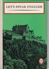 Let's speak english 2, DDR Lehrbuch, Volk und Wissen 1967 Englisch-Lehrbuch
