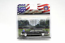 Lincoln Continental Baujahr 1972 Gerald R. Ford schwarz 1:43 Greenlight
