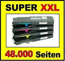 4 x Toner Set f. DELL C3760N / C3760dn / C3765dnf - High Capacity Cartridges !