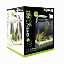 SHRIMP SET SMART LED 30 WHITE AQUAEL CARIDINE PESCI PIANTE ACQUARIO COMPLETO