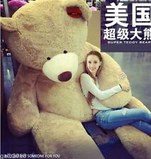 Huge Giant super Semi-finished Teddy Bear Skin(without cotton )102''fast Ship