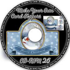 Make Your Own Card Toppers CD-ROM 26