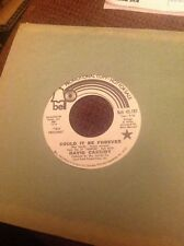 DAVID CASSIDY 45  Could It Be Forever Test Pressing Promo NM