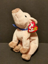 1999 TY Beanie Babies Knuckles the Pig W/Tags