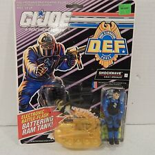 GI JOE ~ 1992 SHOCKWAVE ~ SWAT S.W.A.T. D.E.F. ~ MOC ~  DRUG ELIMINATION FORCE