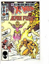 3 Alpha Flight Marvel Comic Books # 22 24 X-Men and Alpha Flight #1 Shaman WM2