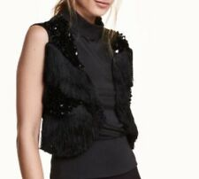 Fabulous Premium Quality H&M Top With Sequins And Fringes Blogger Fashion Chic