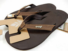 REEF WOMENS SANDALS CUSHION LUNA BROWN SIZE 10