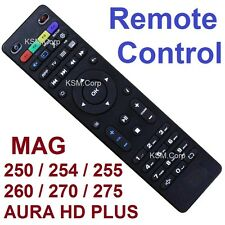 New Replacement Remote Control AURA HD MAG 250 254 255 270 275 IPTV Set Top BOX