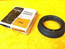 ***NEW*** 49 mm VIVITAR COLLAPSIBLE LENS SHADE