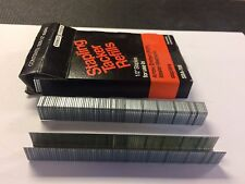 """Stanley Bostitch SBA-708  1/2"""" Staples, Box Of 1000, NOS, Fits T-50 & Others"""