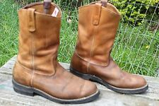 VINTAGE RED WING PECOS MOTORCYCLE ENGINEER BOOTS Size 10.5 E