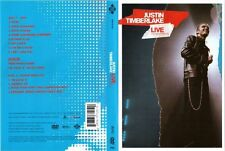 JUSTIN TIMBERLAKE  Live From London CD+ DVD Set [PAL; Region 4]  ** NEW DVD+CD*