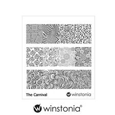 Winstonia Nail Art Stamping Image Plate THE CARNIVAL Stamp Polish Full Patterns