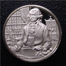 Franklin Mint Sterling Silver Mini-Ingot: 1796 Washington's Farewell Address