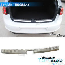 FIT FOR 13 VW GOLF 7 MK7 INNER REAR BUMPER PROTECTOR BOOT CARGO SILL PLATE TRUNK