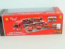 LATEST EDITION ! Shell V Power Passion Series - Hauler + Ferrari 599XX Model Car