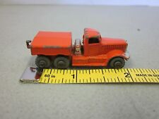 Lensey Matchbox Truck #15 Orange Prime Mover