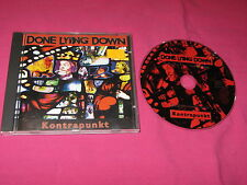 Done Lying Down Kontrapunkt 1996 CD Album Rock MINT