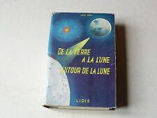 Jules Verne: De la Terre à la Lune- Autour de la Lune/ Editions Lidis