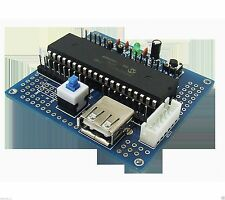 PIC16F877A CEPARK development Minimum System PCB board PICKIT downloader PICKIT