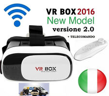 Fashion VR BOX 2.0 Occhiali Realtà Virtuale 3D Virtual Reality Gamepad Bluetooth