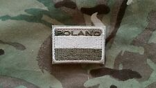 Polish ARMY FLAG POLAND velcro patch camo 50x35 special force GROM