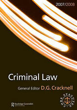 Criminal Law (Routledge-Cavendish Core Statutes) (Routledge-Cavendish Core Statu