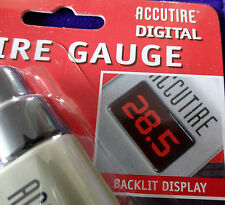 ACCUTIRE Programmable Digital TIRE Pressure Gauge LCD Display MS4021B 5-150 PSI