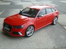 Minichamps Audi RS6 Avant Red Detailed Diecast 1/18 Model 5011216215
