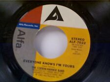 "CORBIN / HANNER BAND ""EVERYONE KNOWS I'M YOURS / SON OF AMERICA"" 45"