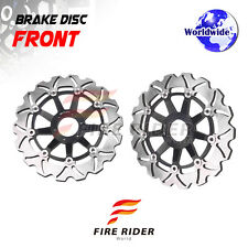 FRW 2x Front Brake Disc Rotor For Honda XL 1000 VARADERO 99-11  01 02 03 04 05