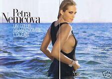 Coupure de presse Clipping 2008 Petra Nemcova  (4 pages)
