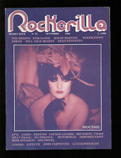 ROCKERILLA 73/1986 SIOUXSIE MISSION WOODENTOPS PINK FLOYD UGLY THINGS MOTORHEAD