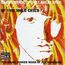 JIM MORRISON/+ - ELECTRONIC PROCLAMATIONS OF THE WILD CHILD  CD 10 TRACKS NEU