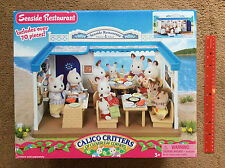 BRAND NEW Calico Critters SEASIDE RESTAURANT CC1568 With Over 70 Pieces SEALED